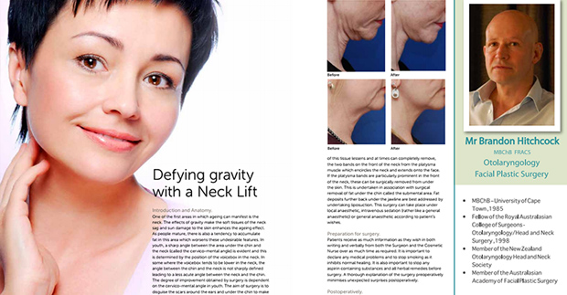 Beautiful You magazine - Neck Lift.
